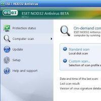 ESET NOD32 Antivirus screenshot