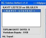 BG Telefon Defteri screenshot