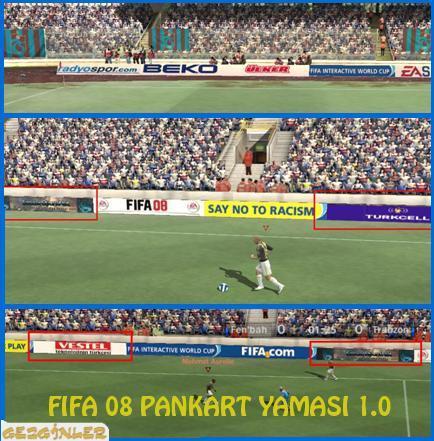 Fifa 08 Pankart yaması 1.0 7231