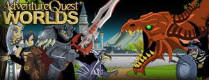 AdventureQuest Worlds Sava� oyunu
