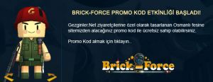 Brick Force Flash oyunu