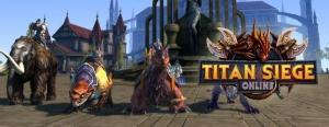 Titan Siege MMORPG oyunu