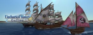 Uncharted Waters Online MMORPG oyunu